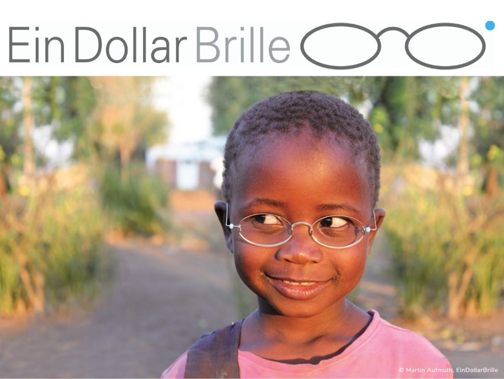 Kind mit Ein-Dollar-Brille