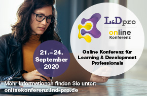 Onlinekongress L&Dpro vom 21.-24. September 2020